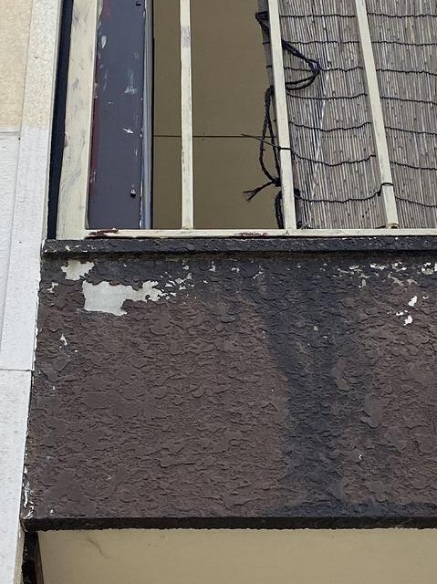 モルタル外壁の様子