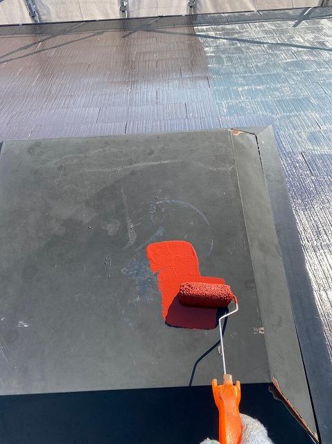 屋根防錆塗装