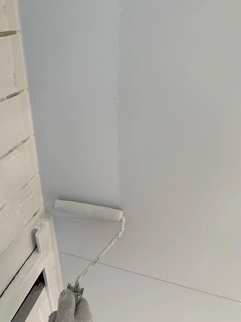 志摩市でエバーロックを使用し軒天の塗り替えをしました