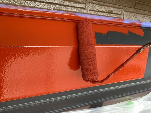 シャッターボックス塗装
