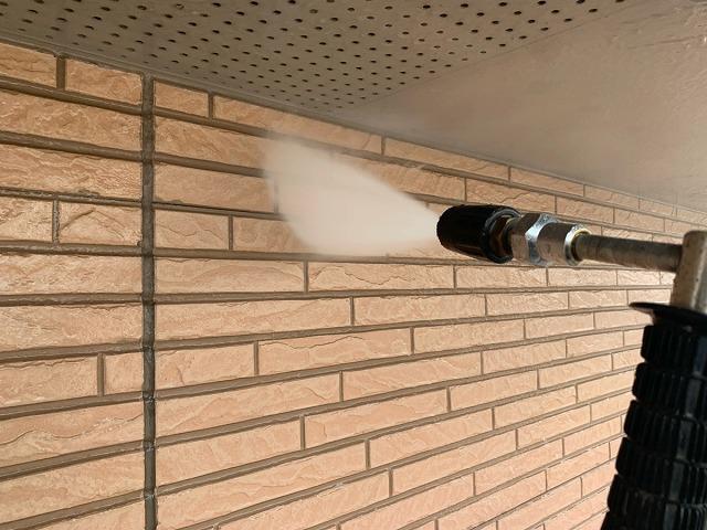 外壁の水洗い