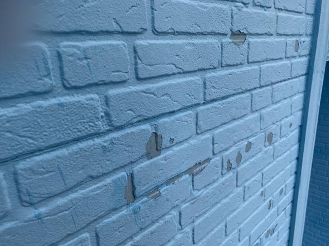 ケレン後の外壁