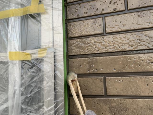 1F外壁塗装1回目