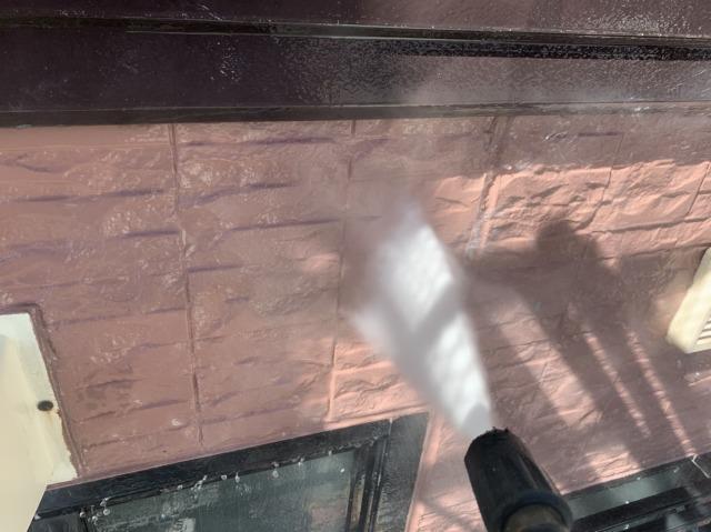 1階外壁高圧洗浄