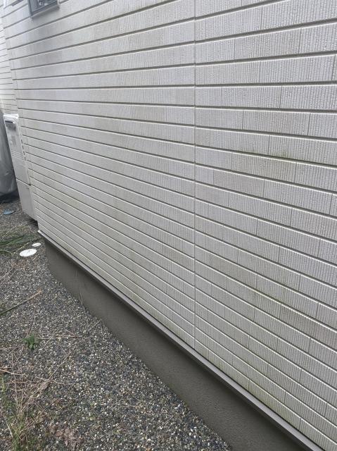 外壁の汚れの様子