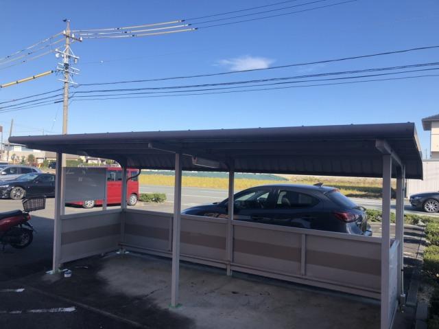 駐輪場塗装