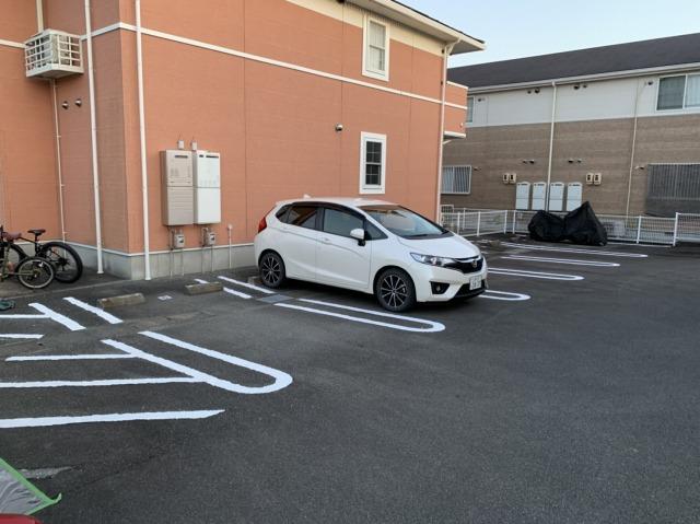 駐車場ライン1回目