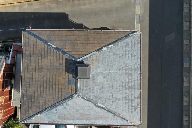 屋根の塗装前