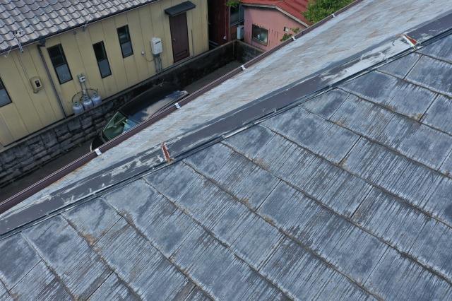屋根劣化の具合