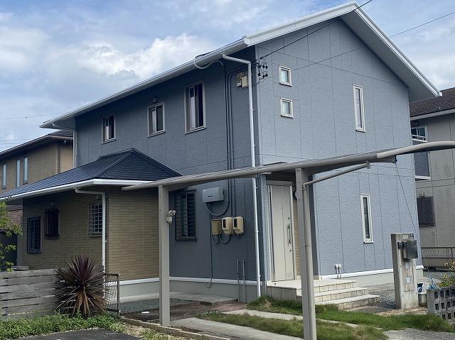 住宅塗装完工
